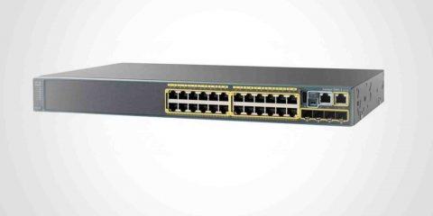 سوئیچ سیسکو کارکرده و استوک Cisco Switch WS-C2960X-24TS-L