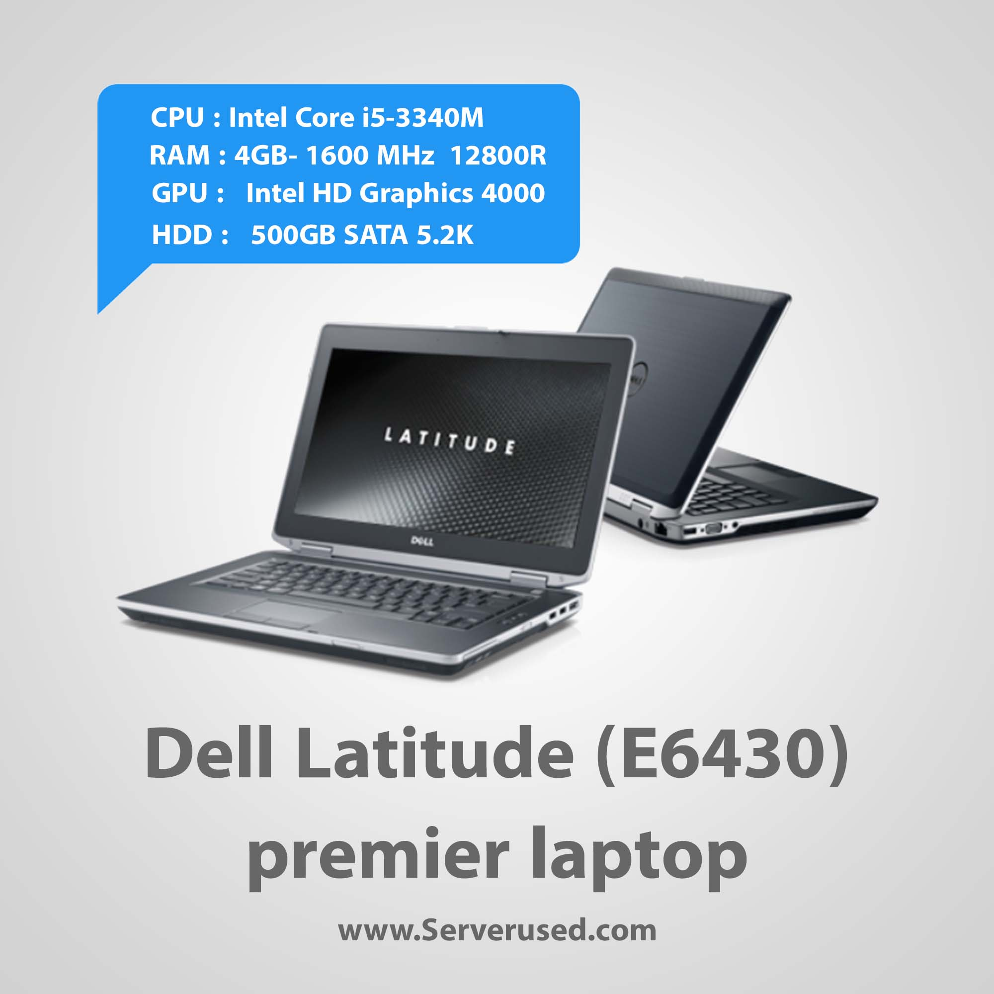 Dell Latitude E6430 Laptop Computer