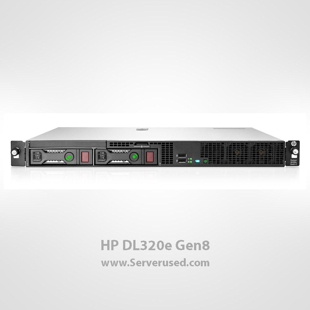 سرور رکمونت استوک HP DL320e Gen8