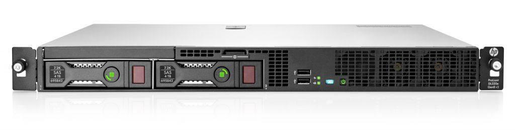 سرور رکمونت کارکرده HP DL320e G8 E3-1231v3