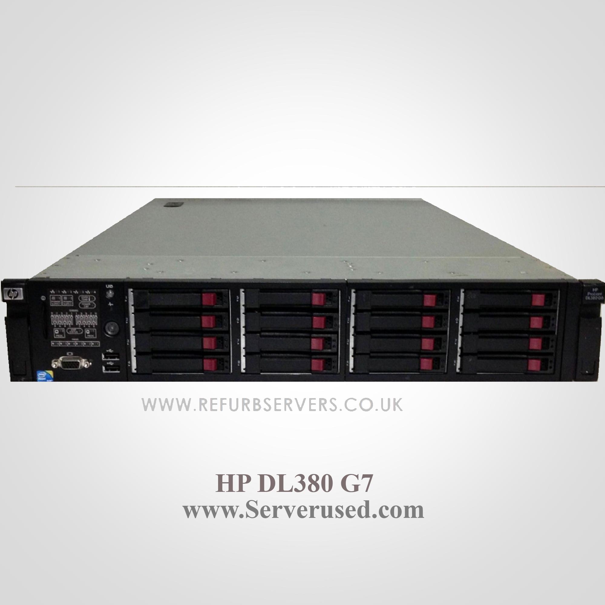 سرور رکمونت استوک HP Proliant DL380-G7