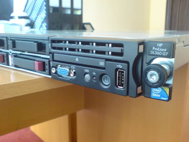 سرور استوک رکمونت HP Proliant DL360 Gen7
